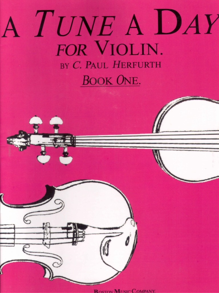a tune a day violin 1 pdf
